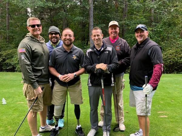 John Kriesel golfing